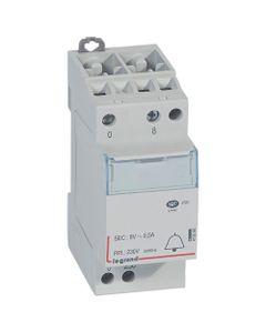 Transformator dzwonkowy modułowy TR304 230/8V 4VA 0,5A 413090