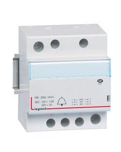 Transformator dzwonkowy modułowy TR324 230/24/12V 24VA 1/1,5A 413093