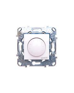 Unica Plus Ściemniacz pokrętło biel polarna 40-1000VA 250V MGU5.512.18ZD
