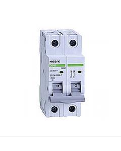 Wyłącznik nadprądowy 1P+N B 2A 6kA AC NOARK 100016