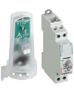 Wyłącznik zmierzchowy 1-funkcja 16A 1-100000lx z fotokomórką IP65 WZ301 412623