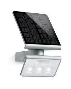 Oprawa solarna LED z czujnikiem ruchu 8 metrów 140 stopni 1,2W 150lm 4000K IP44 srebrna XSolar L-S S...