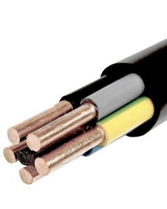 Kabel energetyczny okragly YKY 5x10 czarny 0,6/1kV