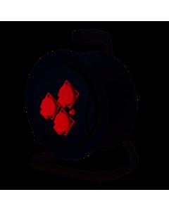 Zwijak bębnowy 3-gniazda tablicowe z/u i zabezpieczeniem termicznym ZB-111