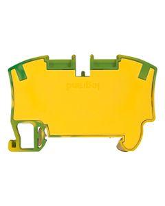 Złączka sprężynowa VIKING 3 16mm2 2-przewodowa żółto-zielona 037274