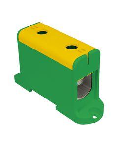 Złączka szynowa przelotowa 2-przewodowa 16-95mm2 żółto-zielona WLZ35P/95/z 48.597