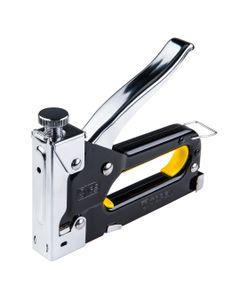Zszywacz tapicerski 6-14mm zszywki typ J metalowa obudowa z regulacją siły wbijania 41E905
